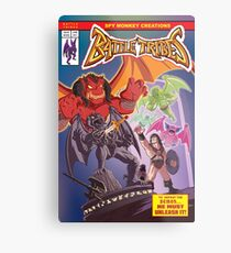 Battle Tribes - Return of the Demon Metal Print