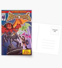 Battle Tribes - Return of the Demon Postcards