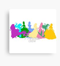Princess crew Canvas Print