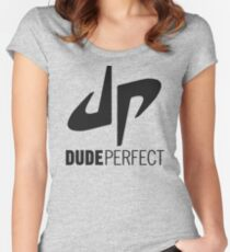 Dude Perfect Women's Fitted Scoop T-Shirt