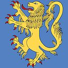 Lion Rampant by Richard Fay
