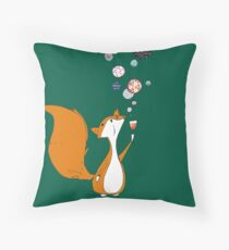 Little fox Throw Pillow