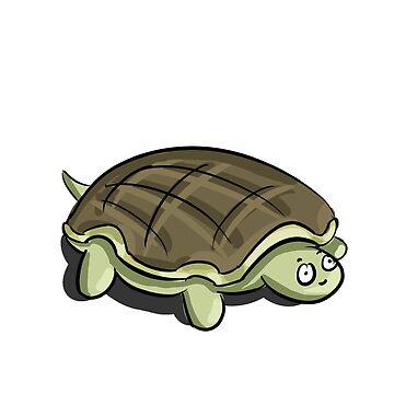 Turtle Too Cute by ashjatkinson