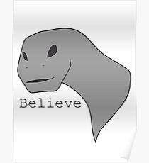 Alien Dino Poster