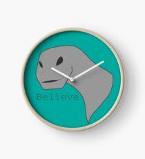 Alien Dino Clock