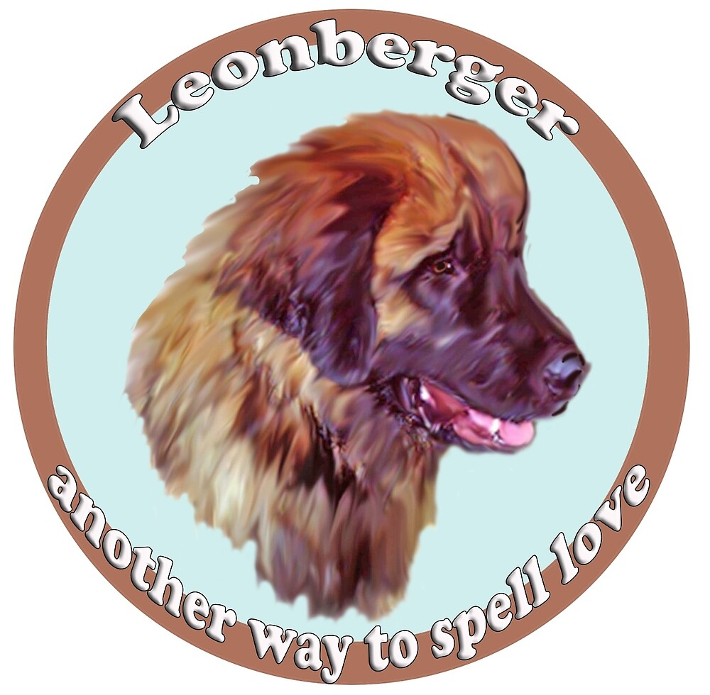 Leonberger is another way to spell love by IowaArtist