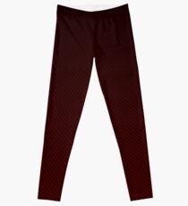 Red carbon design Leggings