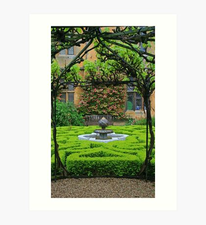 Sudeley Castle Gardens Art Print