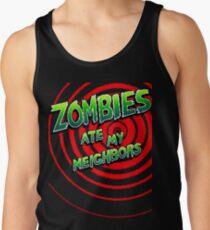 Zombies Ate My Neighbors Pixel Art Tank Top
