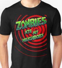 Zombies Ate My Neighbors Pixel Art Unisex T-Shirt