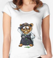 Gilbert the Irradiated Hamster Women's Fitted Scoop T-Shirt