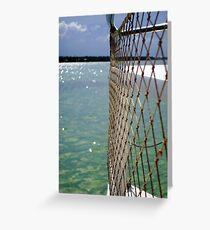 Yachting Greeting Card