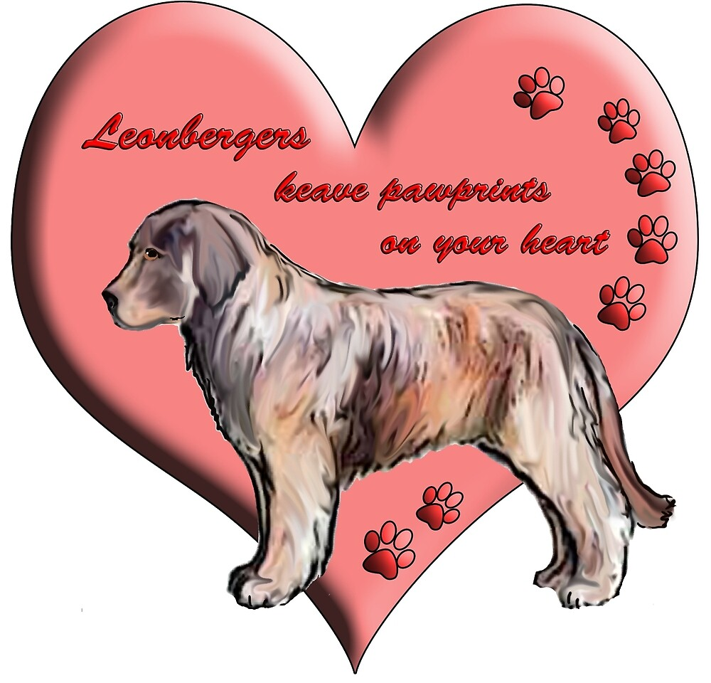 Leonbergers leave pawprints on your heart by IowaArtist