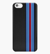 Carbon racing stripes iPhone 5c Case