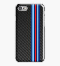 Carbon racing stripes iPhone 7 Case