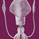 Squid (Purple) by MissElaineous Designs