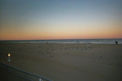 FALL SUNSET AT THE BEACH II by NEIL STUART COFFEY