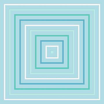 Cool Blue Squares by KCavender