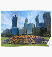 The city of Perth welcomes CHOGM Poster