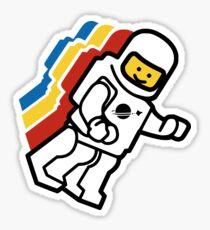 LEGO Klassischer Raum Sticker