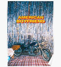 AMERICAN BOYFRIEND : KEVIN ABSTRACT Poster