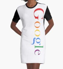GOOGLE Graphic T-Shirt Dress