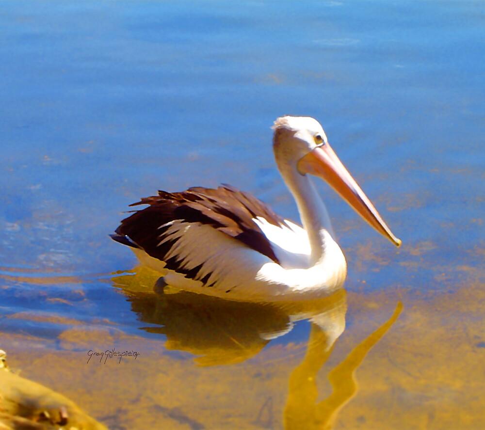 Pelican Three by Greg Gillespie