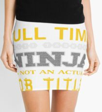 IMAGING ASSISTANT - JOB TITLE SHIRT AND HOODIE Mini Skirt