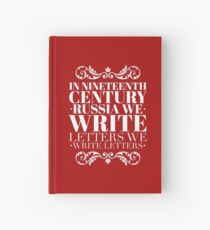 We Write Letters- Natasha, Pierre, and the Great Comet of 1812 Hardcover Journal