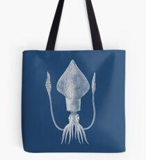 Squid (Blue) Tote Bag