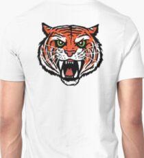 ORANGE TIGER (BACK) Unisex T-Shirt