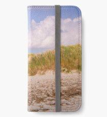 Grassy dunes iPhone Wallet