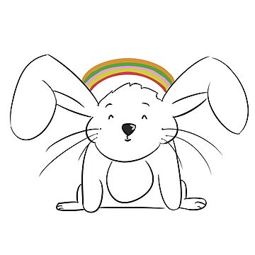 Bunny Too Cute by ashjatkinson