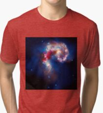 The Antennae Galaxies Tri-blend T-Shirt