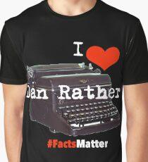 I heart dan #factsMatter Graphic T-Shirt
