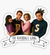 The Riverdale Gang - Archie Andrews, Veronica Lodge, Betty Cooper, Jughead Jones Sticker