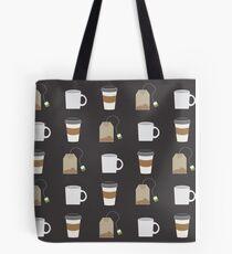 Tea Pattern Tote Bag