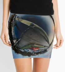 Foyle Marina at Dawn, Stereographic Mini Skirt