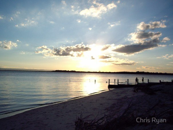 Bribie Sunset by Chris Ryan