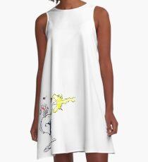 Earthworm Jim  A-Line Dress