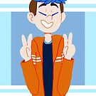 Ethan Peace Signs by shaytastic