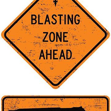 VIII - Blasting Zone by JRPomazon