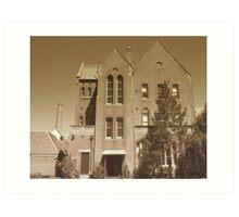The Convent. - Abbotsford  Art Print