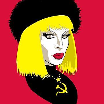 Katya zamolochikova  by Yellowgalaxies