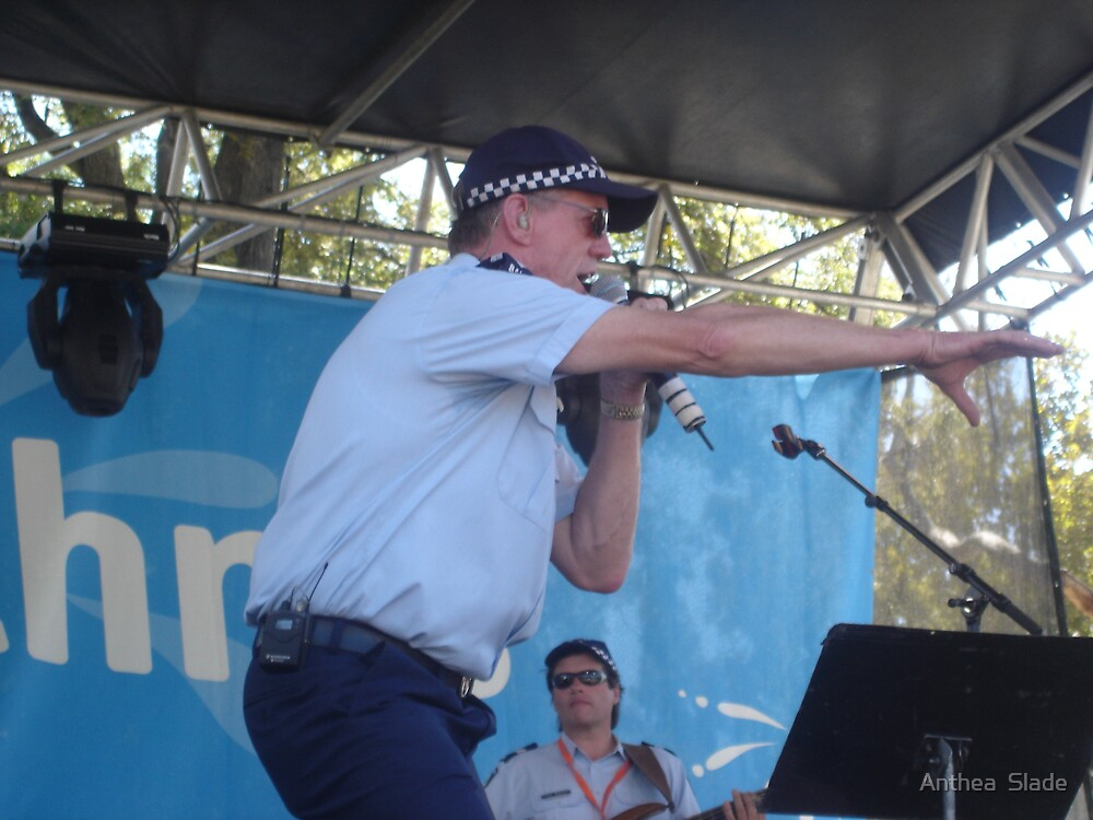 Police Band at Moomba by Anthea  Slade