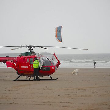 wales air ambulance by zacco
