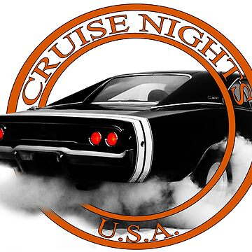 Cruise Nights U S A #1 by Mikeb10462