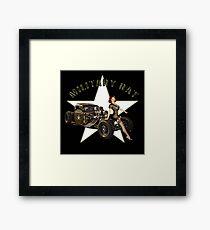 Military Rat Framed Print