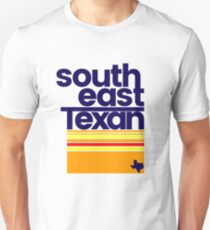 South East Texan Regional Shirt Funny Texas Southeast TX Slim Fit T-Shirt