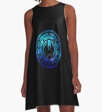 Battlestar Galactica Colonial Seal A-Line Dress